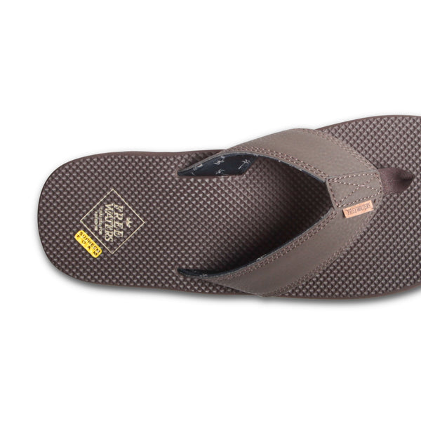 FREEWATERS Supreem Dude Brown Men's Sandals
