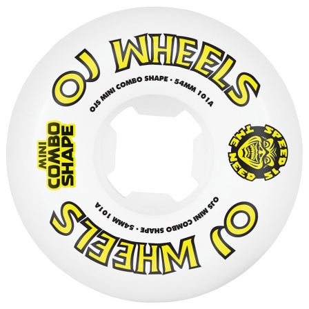 OJ 54MM TEAM LINE ORIGINAL MINI COMBO 101a WHEELS