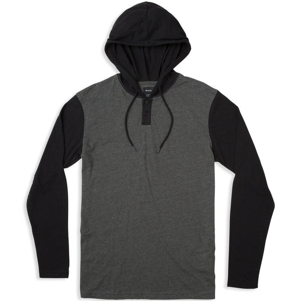 RVCA PICK UP KNIT HOODIE