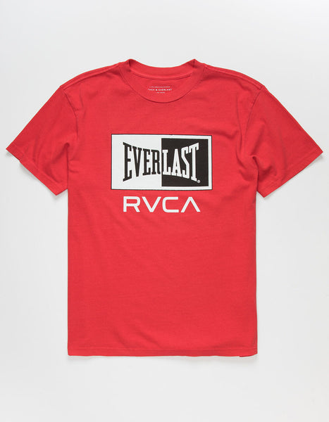 RVCA Everlast Box Tee (Red)