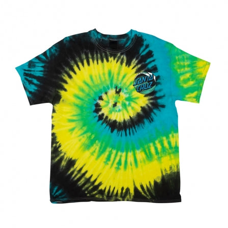 Santa Cruz Wave Dot T Shirt (TROPICAL BREEZE)