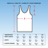 SEXWAX MEN'S QUICKHUMPS TANK TOP WHITE