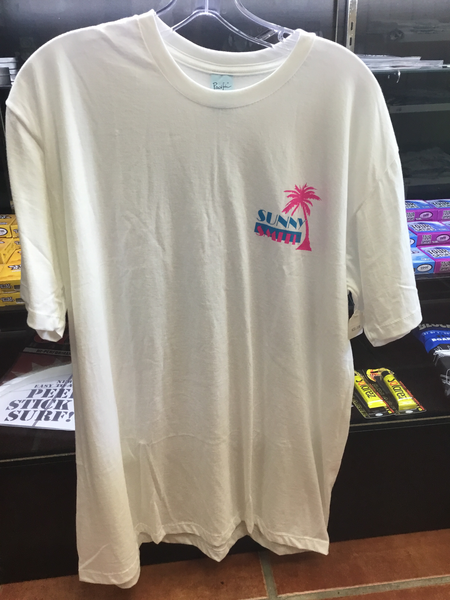 Sunny Smith Palm Tee White