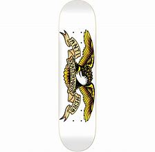 ANTI HERO CLASSIC EAGLE DECK 8.75 (White)