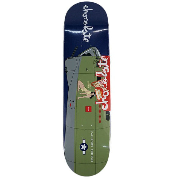 Chocolate Skateboards Kenny Anderson Bomber Deck