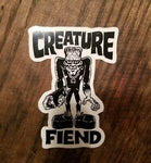 CREATURE STICKER- FIEND