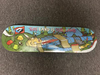 Consolidated Skateboard Deck Team OUR LAND 8.3""
