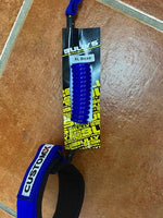 CUSTOM X BULLY'S BODYBOARD BI-CEP COIL LEASH