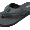 FLOJOS LIAM THONG WITH FLEX SOLE WATER FRIENDLY GRAY