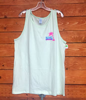 Sunny Smith Mens Tank - Light Green