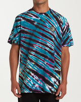 BILLABONG YANG TIE-DYE SHORT SLEEVE T-SHIRT