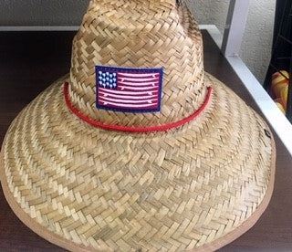Lifeguard Hat American Surf Flag Flexfit