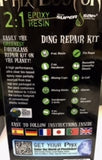 Phix Doctor 2:1 Large Epoxy Resin Ding Repair Kit  Made With Super Sap