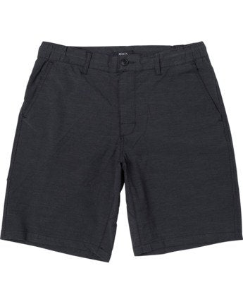 RVCA ALL TIME COASTAL SOLID MEN'S HYBRID SHORT