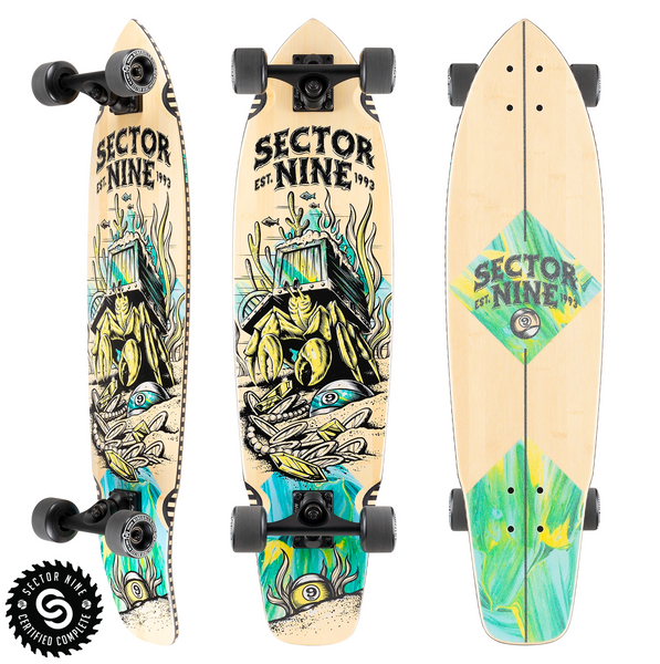 SECTOR 9 FORTUNE FT POINT COMPLETE SKATEBOARD