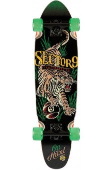 SECTOR 9 STALKER RASTA NATIVE COMPLETE SKATEBOARD