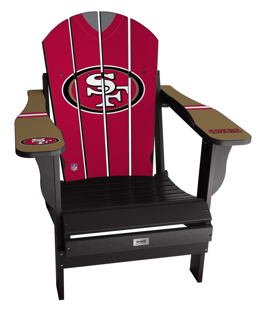 San Francisco 49ers Complete Custom with personalized name and number Jersey Chair