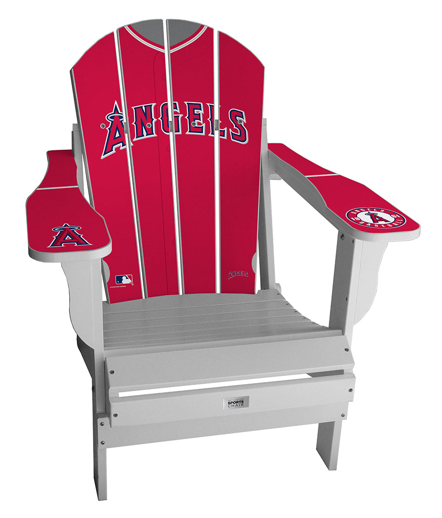 Los Angeles Angels Complete Custom with personalized name and number Jersey Chair