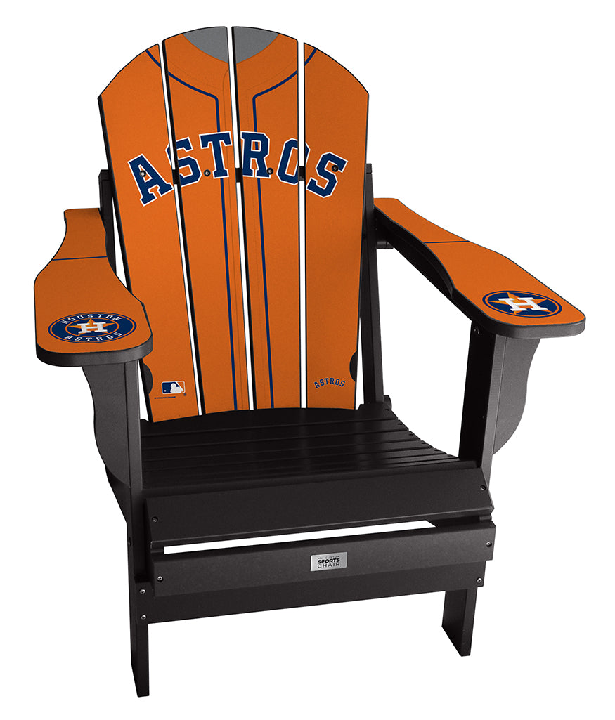 Houston Astros Complete Custom with personalized name and number Jersey Chair