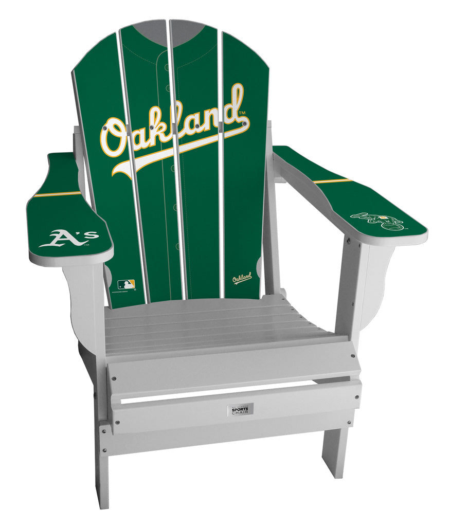 Oakland Athletics Complete Custom with personalized name and number Jersey Chair Mini