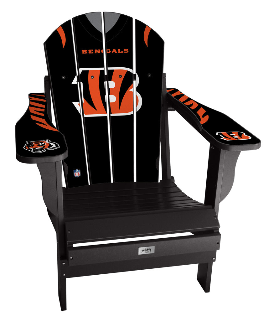 Cincinnati Bengals Complete Custom with personalized name and number Jersey Chair