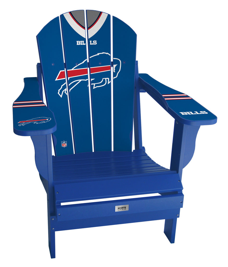 Buffalo Bills Complete Custom with personalized name and number Jersey Chair