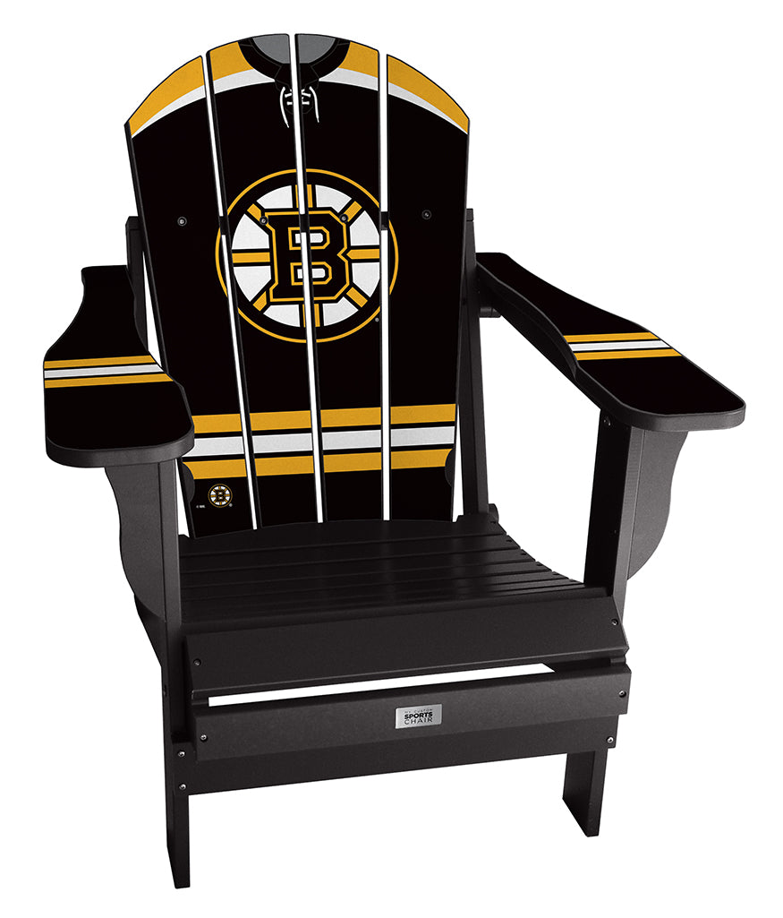 Boston Bruins® Complete Custom with personalized name and number Jersey Chair