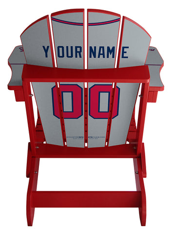 Atlanta Braves MLB Jersey Chair