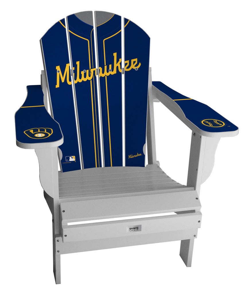 Milwaukee Brewers Complete Custom with personalized name and number Jersey Chair Mini