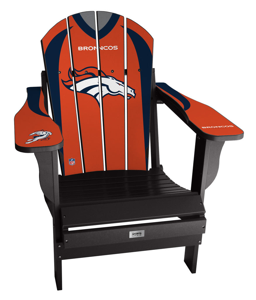 Denver Broncos Complete Custom with personalized name and number Jersey Chair Mini