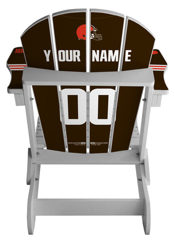 Cleveland Browns NFL Jersey Chair