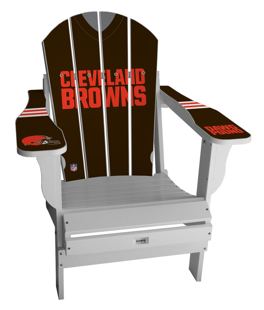 Cleveland Browns Complete Custom with personalized name and number Jersey Chair
