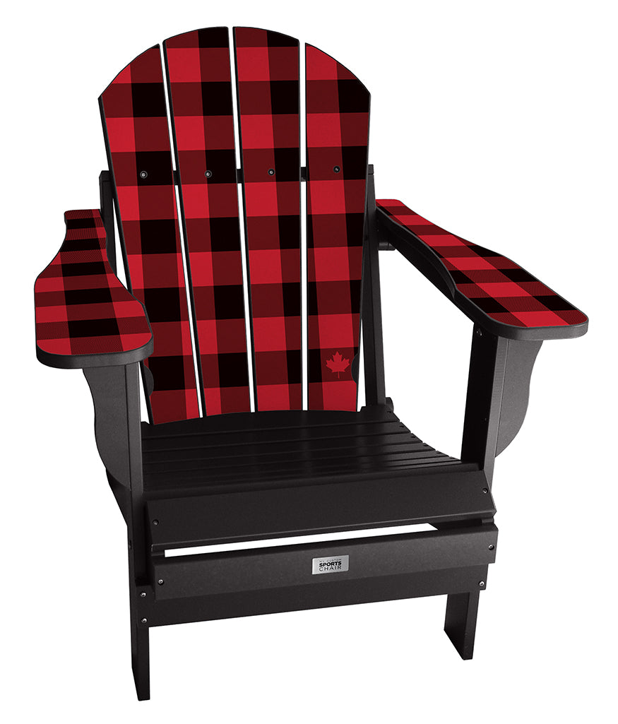 Buffalo Check Complete Custom Chair
