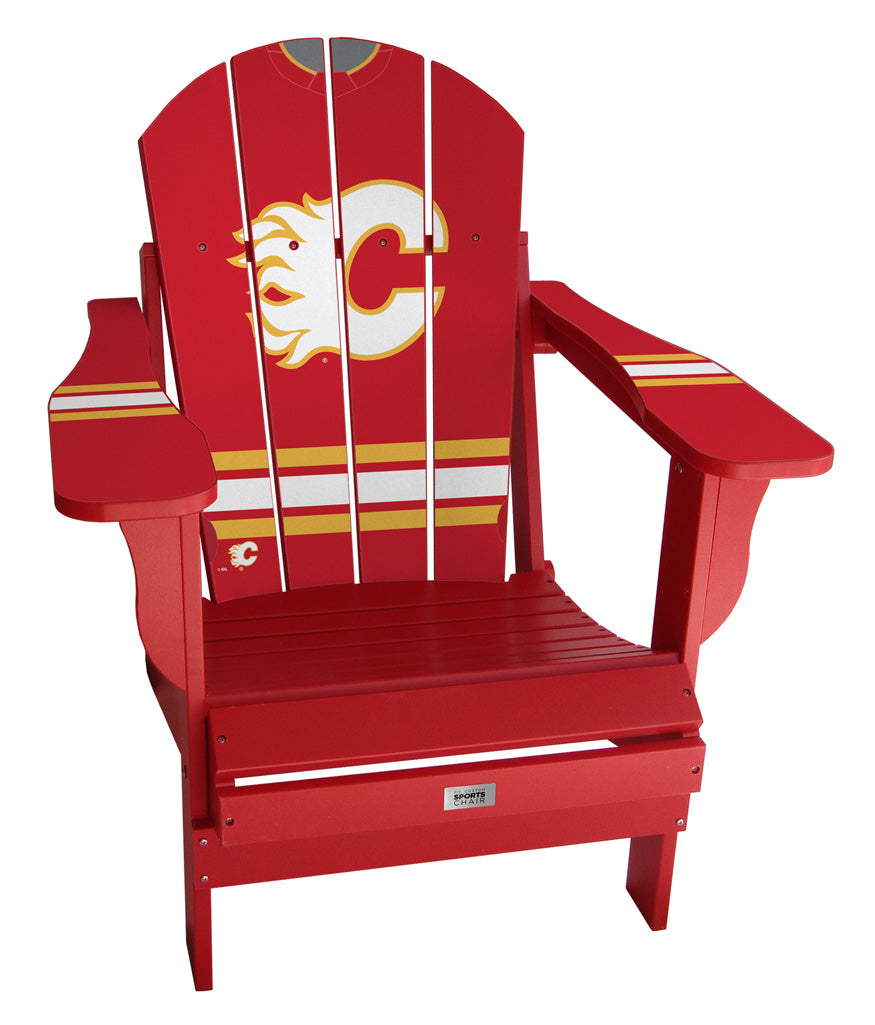 Calgary Flames® NHL Jersey Chair