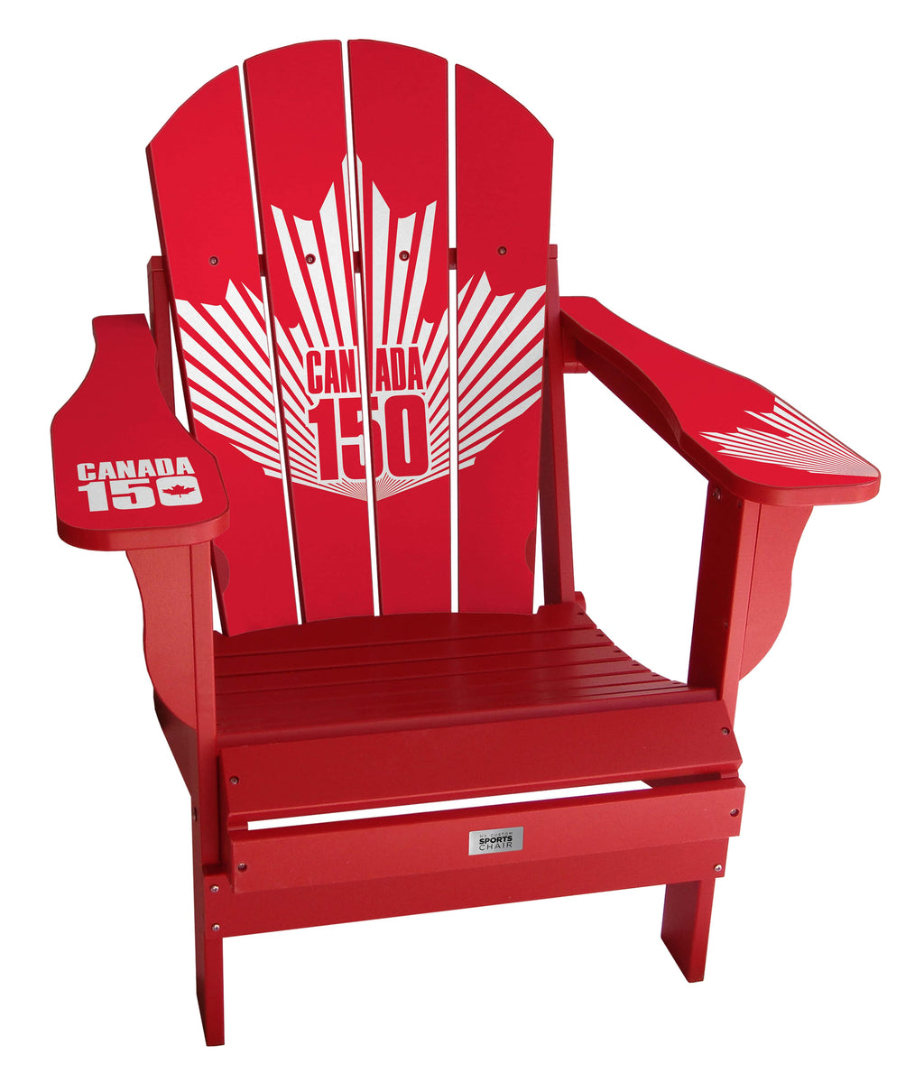 Canada 150 Complete Custom with personalized name and number Chair