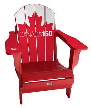 Canada Leaf 150 Complete Custom with personalized name and number Chair Mini