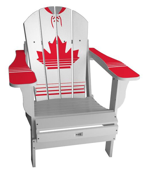 Canada Retro International Custom with personalized name and number Chair Mini