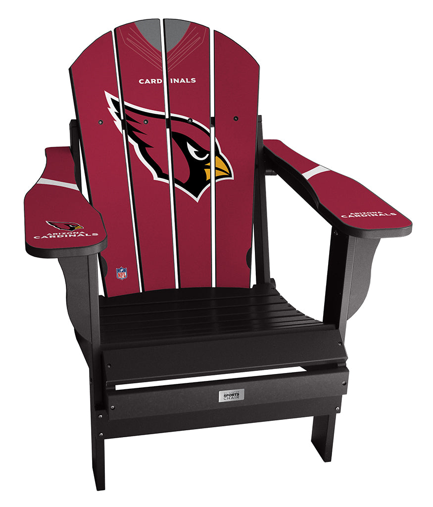Arizona Cardinals Complete Custom with personalized name and number Jersey Chair