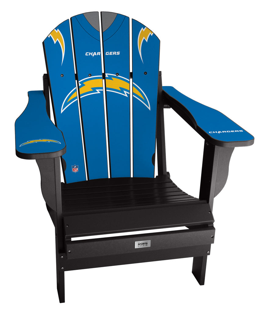 Los Angeles Chargers Complete Custom with personalized name and number Jersey Chair