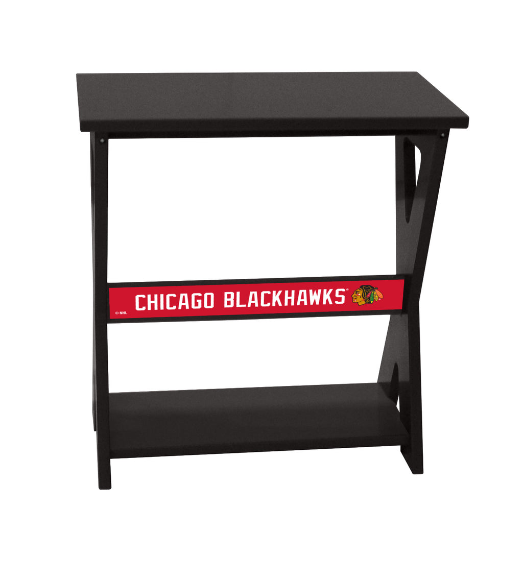 Chicago Blackhawks® NHL End Table