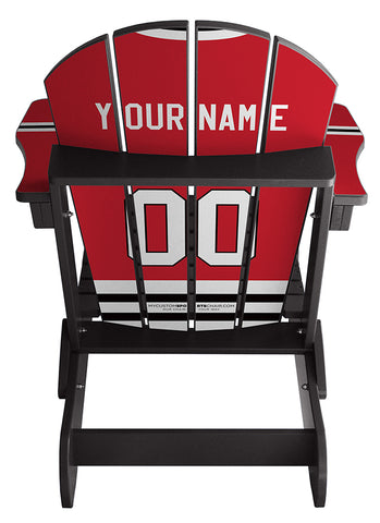 Chicago Blackhawks® NHL Jersey Chair