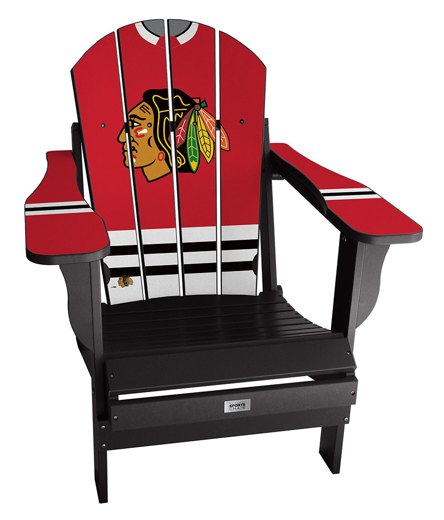 Chicago Blackhawks® Complete Custom with personalized name and number Jersey Chair