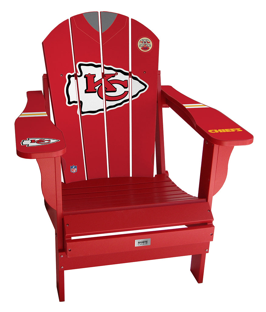 Kansas City Chiefs Complete Custom with personalized name and number Jersey Chair
