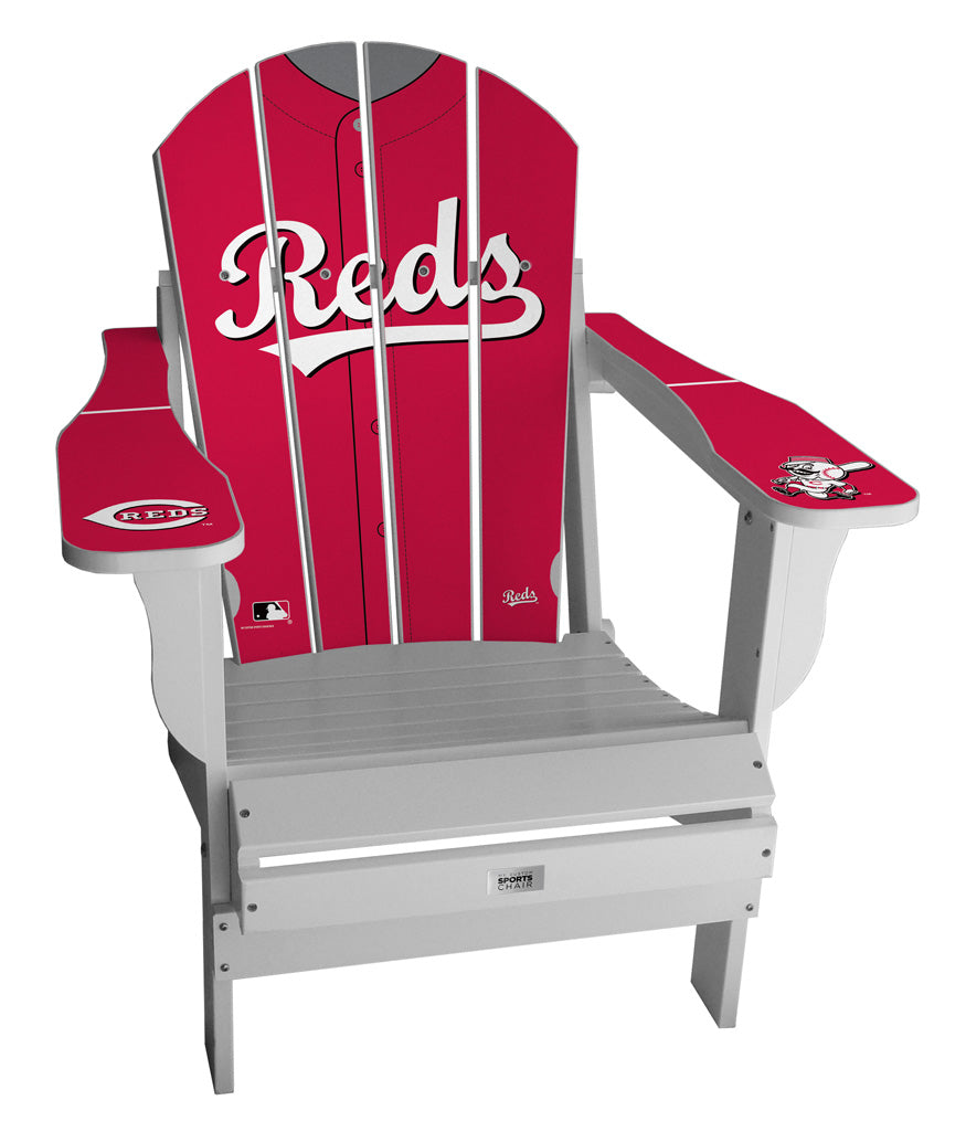 Cincinnati Reds Complete Custom with personalized name and number Jersey Chair