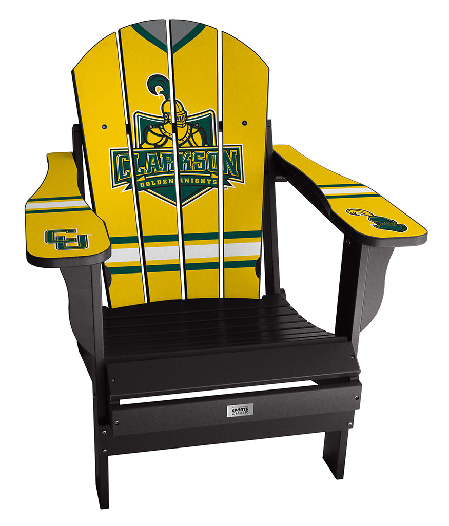 Clarkson University Complete Custom with personalized name and number Chair Mini