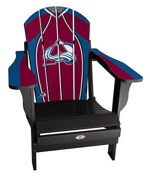 Colorado Avalanche® NHLPA Player Jersey Chair