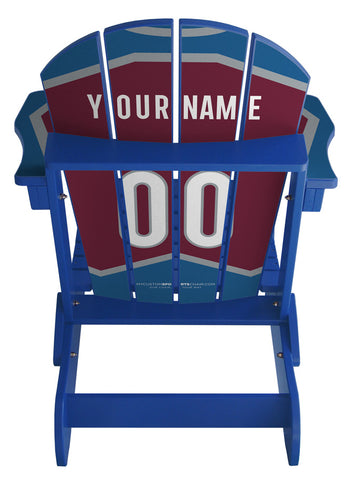 Colorado Avalanche® NHL Jersey Chair