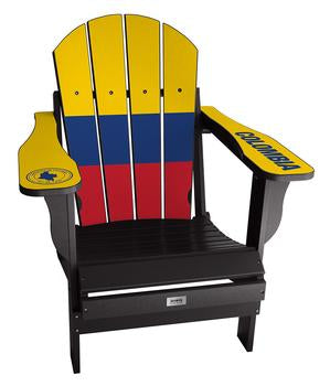 Colombia Flag Complete Custom with personalized name and number Chair Mini