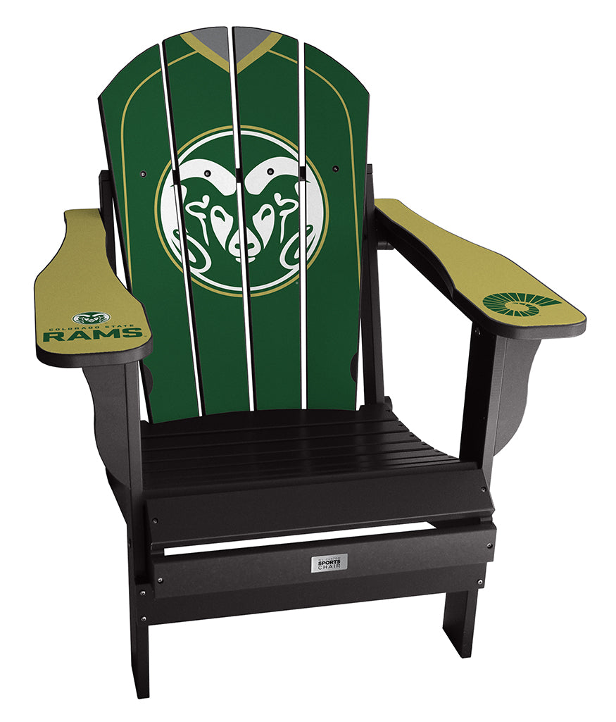 Colorado State University Complete Custom with personalized name and number Chair Mini