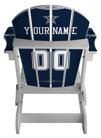 Dallas Cowboys NFL Jersey Chair